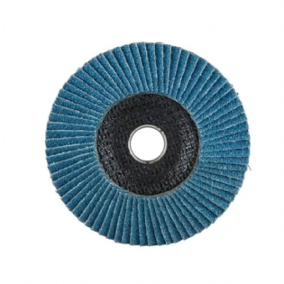 "Disco de Lixa Flap Disc 4 1/2"" (115mm) Grão 80 Para Metal e Inox Makita D-63769"